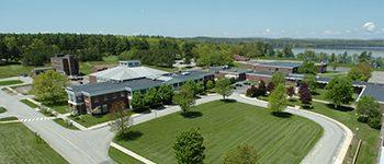 Central Maine Community College campus.