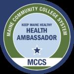 Keep Maine Healthy Health Ambassador badge