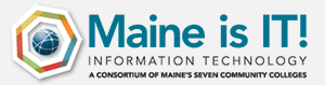 Maine is IT! logo